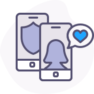 Connect with patients through a simple, secure and confidential platform