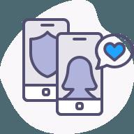 Contactez vos patients au moyen d'une plateforme simple, sécuritaire et confidentielle