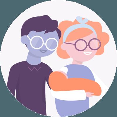 Employés et leurs familles