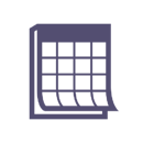 Schedule - purple