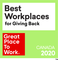 Best Workplaces for Giving Back 2020
