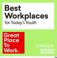 Best Workplaces for Todays Youth 2020