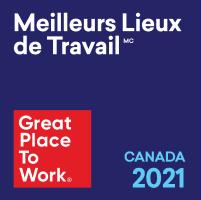 Meilleurs Lieux de Travail Canada 2021