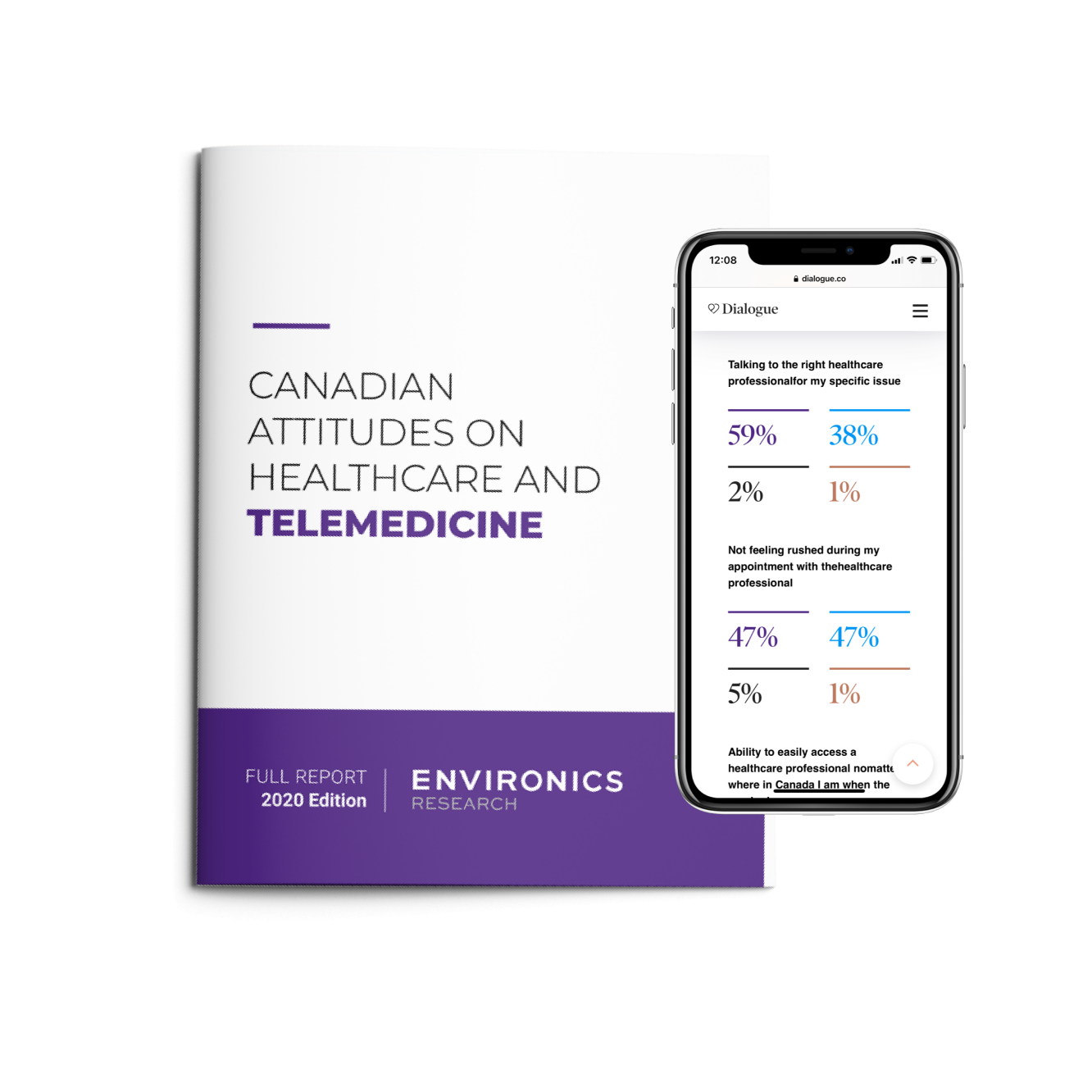 Canadian Attitudes on Healthcare and Telemedicine Report