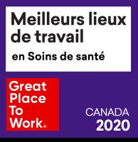 Meilleurs lieux de travail en soins de santé 2020