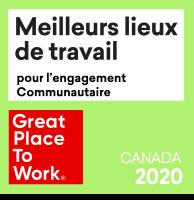 Meilleurs lieux de travail pour lengagement communautaire 2020