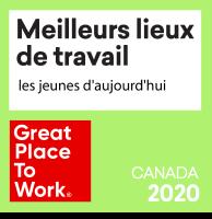 Meilleurs lieux de travail pour les jeunes daujourdhui 2020